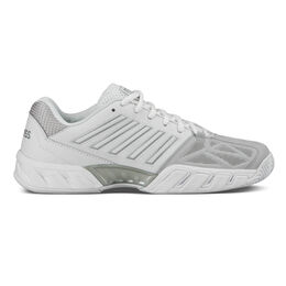 K-Swiss Bigshot Light 3 Women's Tennis Shoe - White/Silver