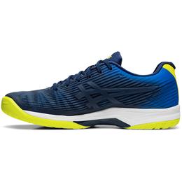 SOLUTION SPEED FF Men's Tennis Shoe - Blue/Yellow