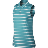 Dri-Fit Sleeveless Victory Stripe Polo
