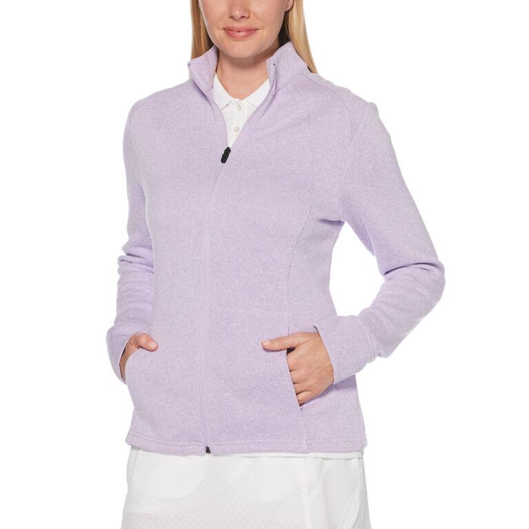 Fleece Full-Zip Golf Jacket
