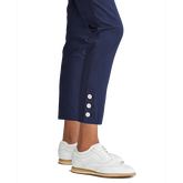 Alternate View 2 of Coolmax Buttoned-Cuff Ankle Pant