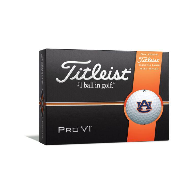 Auburn Tigers Pro V1 Golf Balls