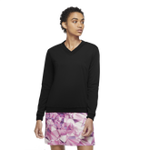Shield Women's Long-Sleeve V-Neck Golf Pullover