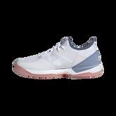 Alternate View 2 of Adizero Ubersonic 3 Women's Tennis Shoe - White/Blue