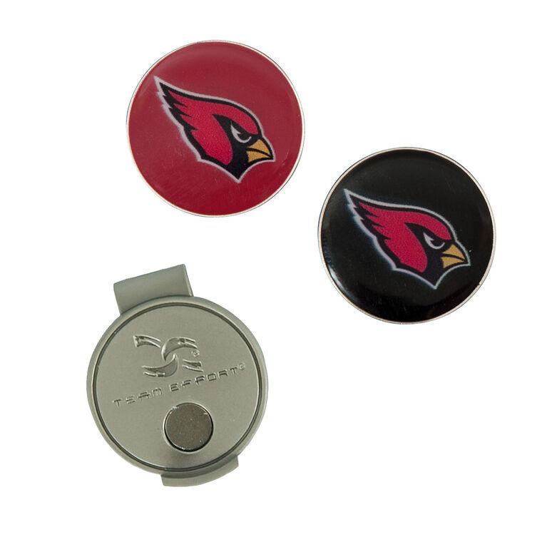 Team Effort Arizona Cardinals Hat Clip & Ball Marker