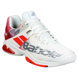 Babolat Propulse Fury All Court Men's Tennis Shoe - White/Red