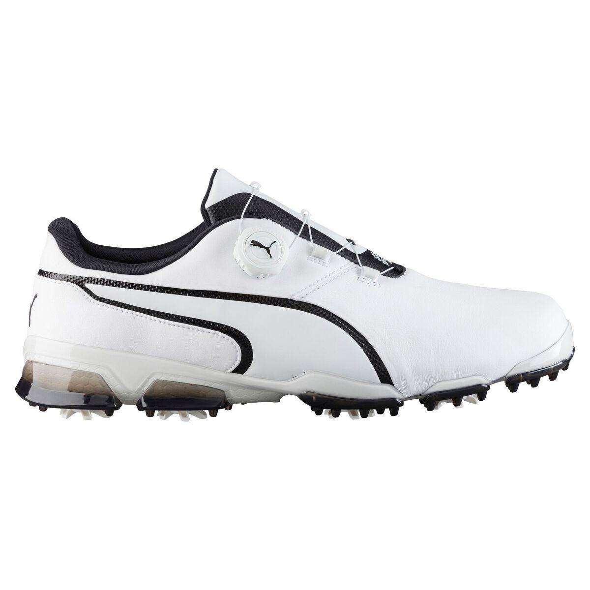 e9141b3d491cdc PUMA TITANTOUR Ignite Disc Men s Golf Shoe - White Black