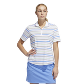 Minted Blues Collection: Ultimate Stripe Polo Shirt