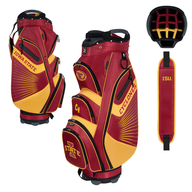 Team Effort Iowa State Bucket II Cart Bag