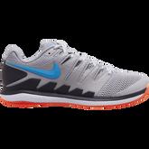 Air Zoom Vapor X Men's Tennis Shoe - Grey/Orange