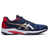 Solution Speed FF Men's Tennis Shoes - Navy/Red