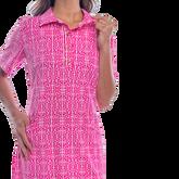 Alternate View 3 of Austin Short Sleeve All Over Maize Print Dress