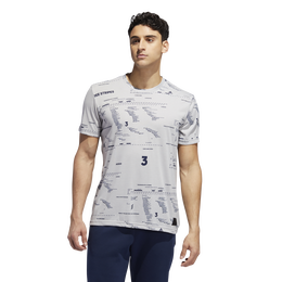 Adicross Allover Graphic Tee