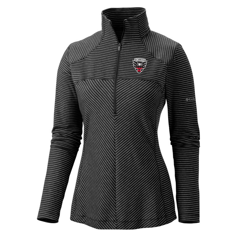 DC United Layer First Women's Half Zip Knit Pull Over