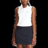 Sustainable Sleeveless Tournament Golf Polo Shirt