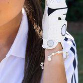 Alternate View 1 of Golf Goddess Silver Stroke Counter Bracelet With Golf Ball Charm