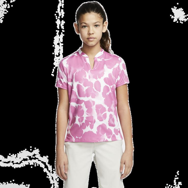 Dri-FIT Girls' Printed Golf Polo