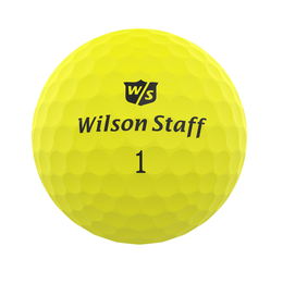 Wilson DUO Professional Golf Ball - Matte Yellow