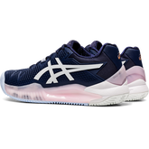 Alternate View 3 of GEL RESOLUTION 8 CLAY Women's Tennis Shoes - Navy/White