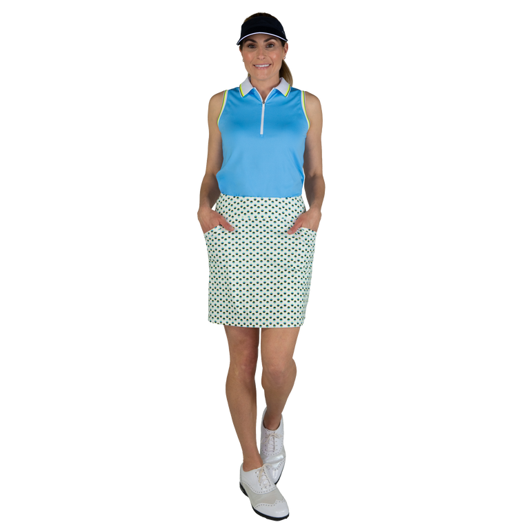 Limonata Collection: Mina Dot Print Golf Skort