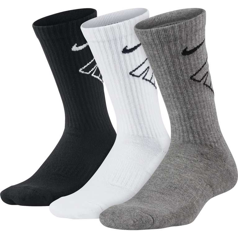Nike Kids Performance Cushioned Crew Training Socks (3 Pair)
