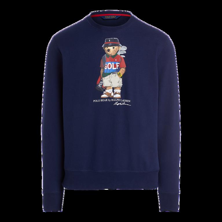 Golf Polo Bear Cotton-Blend Sweatshirt