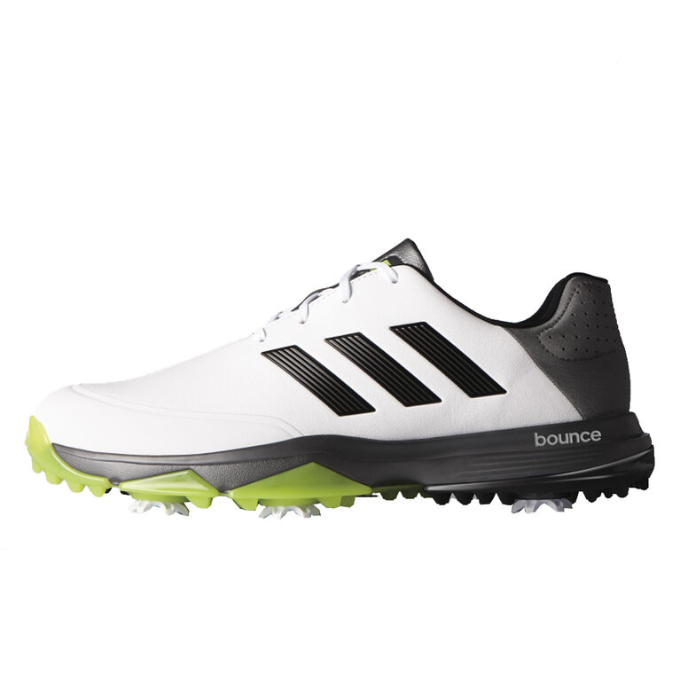 Adipower Bounce Men's Golf Shoe - White/Black