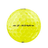 Alternate View 3 of Z-Star 6 Yellow Golf Balls - Personalized
