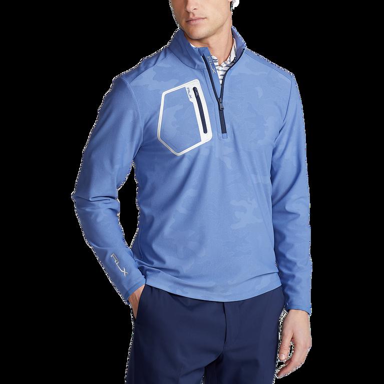 Camo Stretch Quarter-Zip Pullover