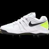 Alternate View 2 of NikeCourt Jr. Vapor X Kids' Tennis Shoe - White/Yellow