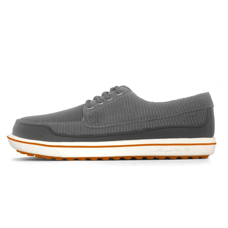 Margaritaville GIMMIE Men's Golf Shoe - Grey/Orange