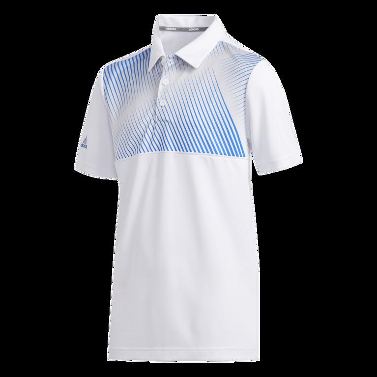 Boys Gradient Stripe Polo Shirt