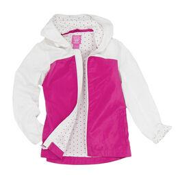 Garb Girls' Brooklyn Full Zip Girl's Wind Jacket