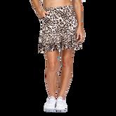 Animal Instincts Collection: Reagan Cheetah Print Pleated Skort