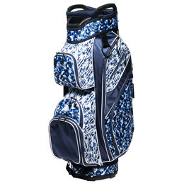 Blue Leopard Cart Bag
