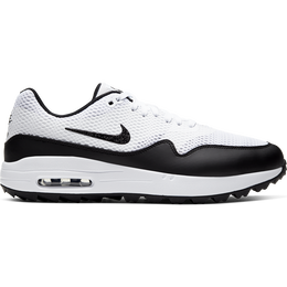 Air Max 1 G Men's Golf Shoe - White/Black