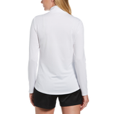 Alternate View 1 of Long Sleeve Mock Neck Golf Shirt