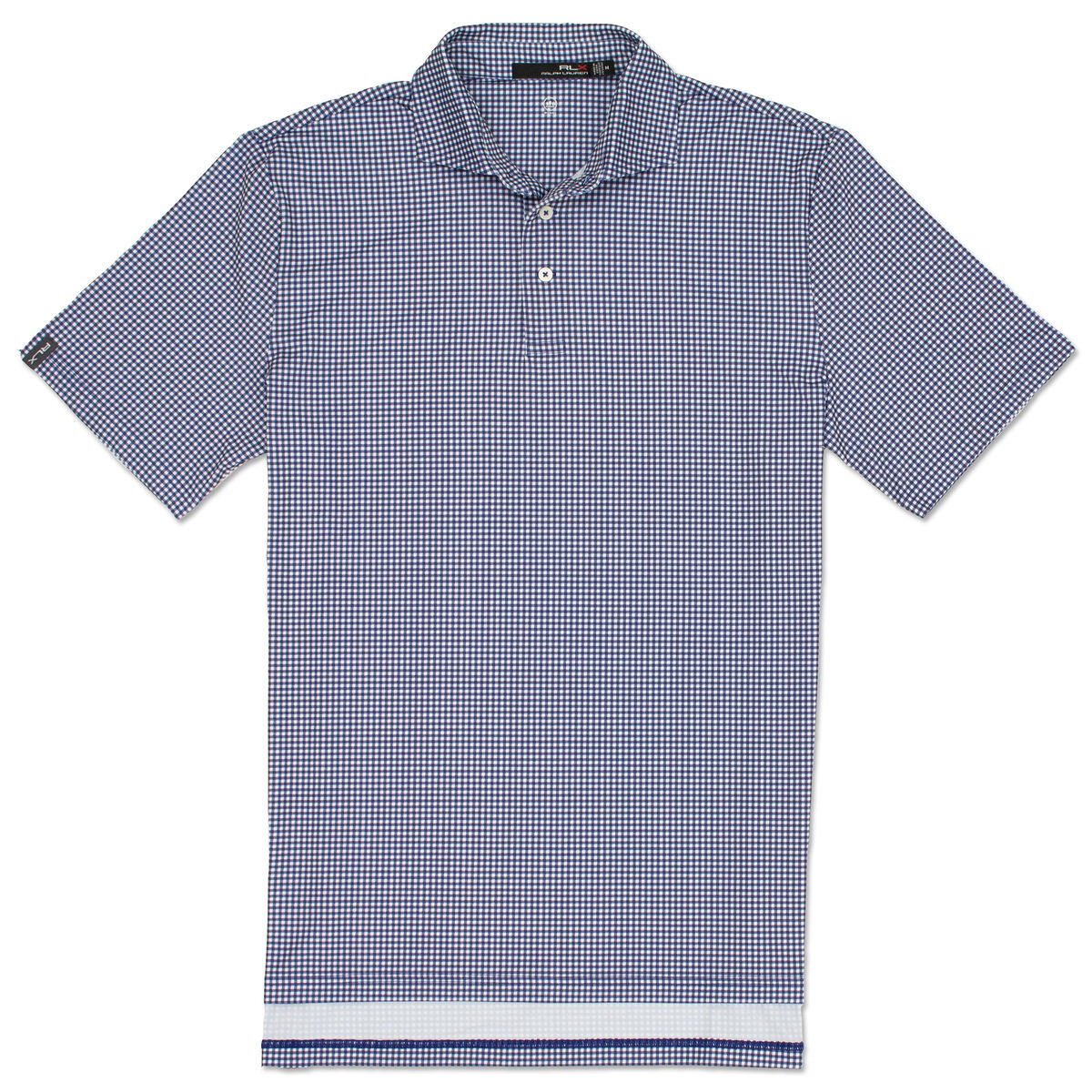 a62dad5f Polo Golf Boys Printed Gingham Lightweight Airflow Polo | PGA TOUR ...
