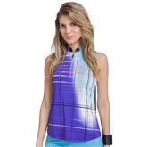 Pippin Group: Grid Print Top