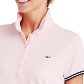 Alternate View 2 of Short Sleeve Solid Pique Polo