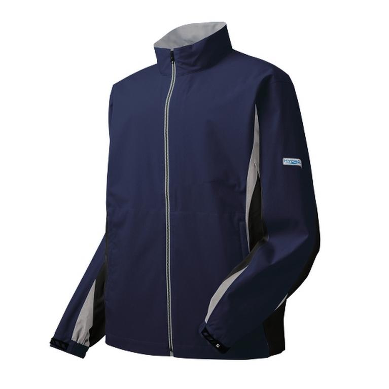 FootJoy HydroLite Men's Rain Jacket - Navy/ Black/ Grey