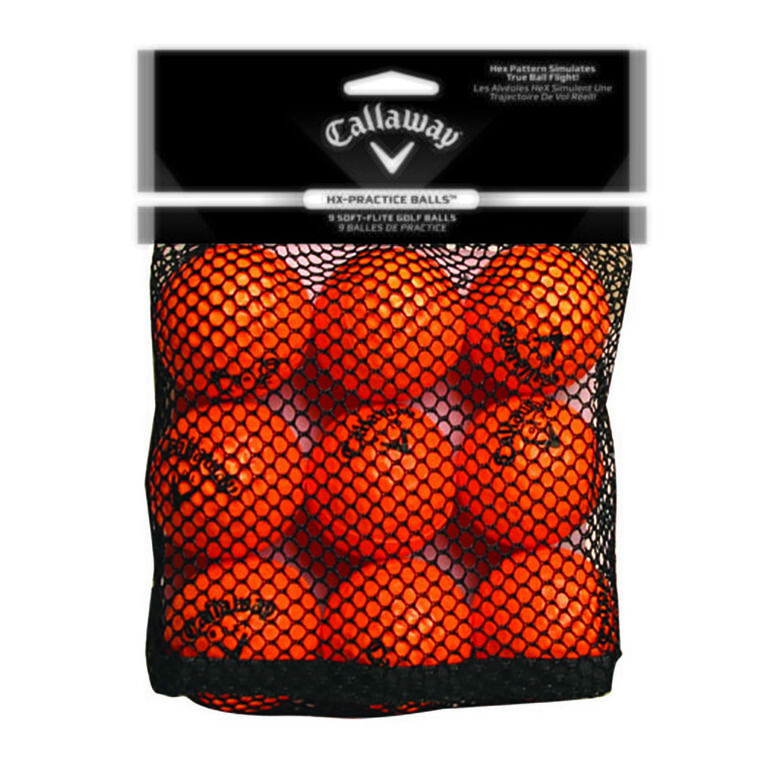 Callaway Golf HX Practice Balls 9 Pack
