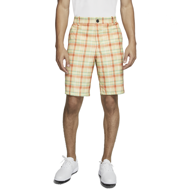 Flex Men's Plaid Golf Shorts