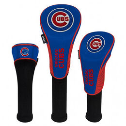 Chicago Cubs Set of 3 Headcovers