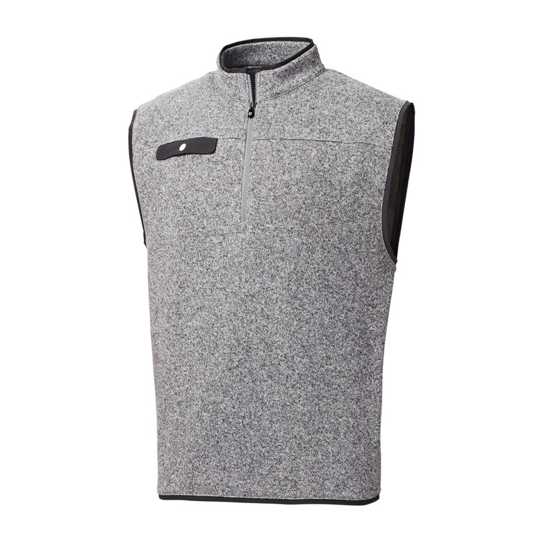 Sweater Fleece Quarter-Zip Vest