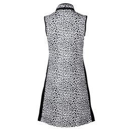 Animal Group: Jocelyn Sleeveless Leo Print Dress
