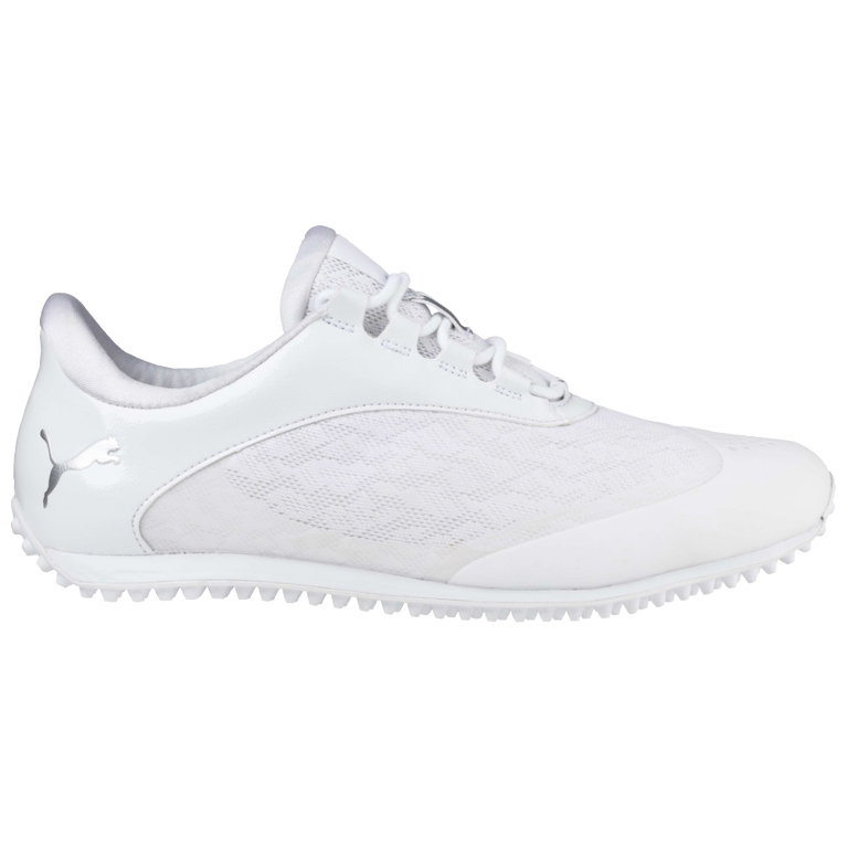 PUMA SummerCat Sport Women's Golf Shoe - White/Silver