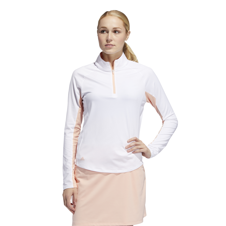 Ultimate365 Climacool Half Zip Long Sleeve Shirt