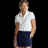 Short Sleeve Solid Polo Shirt