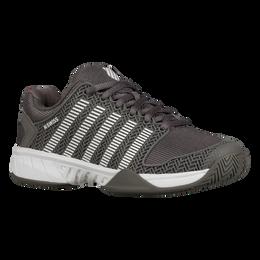 Hypercourt Express Women's Tennis Shoe - Charcoal/White